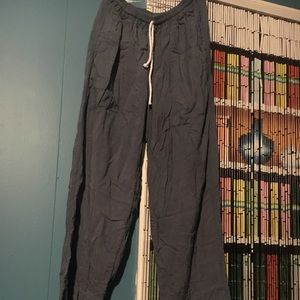 Charcoal Organic Cotton Lounge Pants